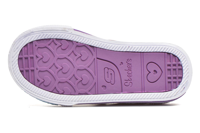Sneaker Skechers Shuffles Glitter N Glitz Little rosa ansicht von oben