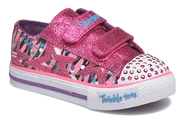 Sneaker Skechers Shuffles Glitter N Glitz Little rosa detaillierte ansicht/modell