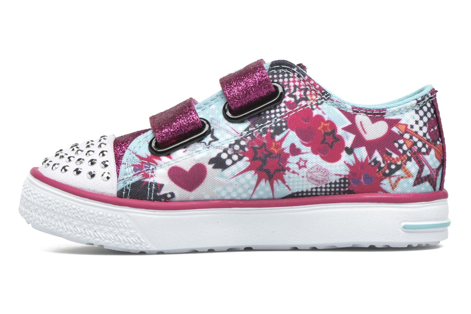 Baskets Skechers Twinkle Breeze Bleu vue face