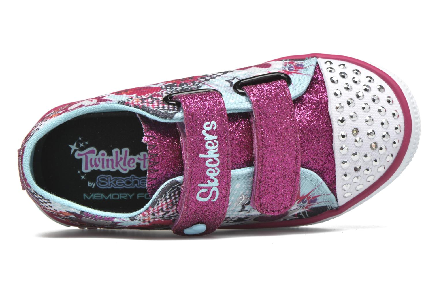 Twinkle Breeze Turquoise/Hot Pink