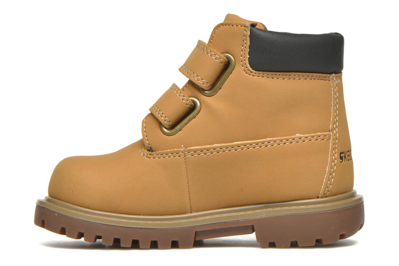 Bottines et boots Skechers Mecca Brazenly Beige vue face