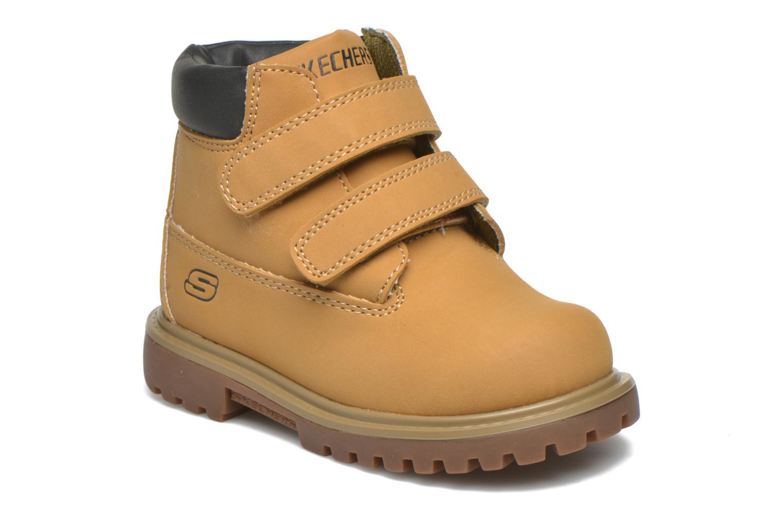 Stiefeletten & Boots Skechers Mecca Brazenly beige detaillierte ansicht/modell