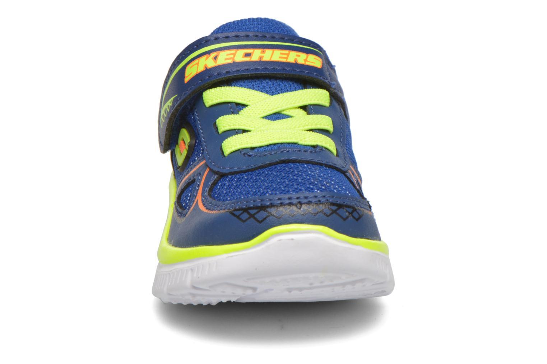 Sneaker Skechers Flex Advantage Mini Race blau schuhe getragen