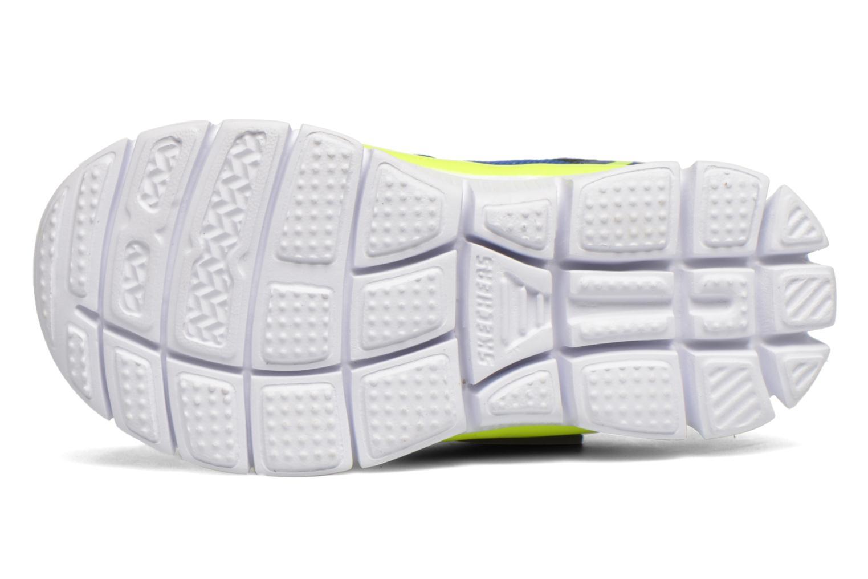 Sneaker Skechers Flex Advantage Mini Race blau ansicht von oben