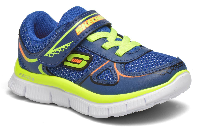 Sneaker Skechers Flex Advantage Mini Race blau detaillierte ansicht/modell