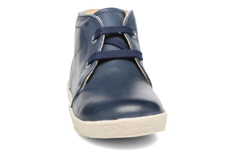 Chaussures à lacets Naturino Falcotto 1195 Bleu vue portées chaussures