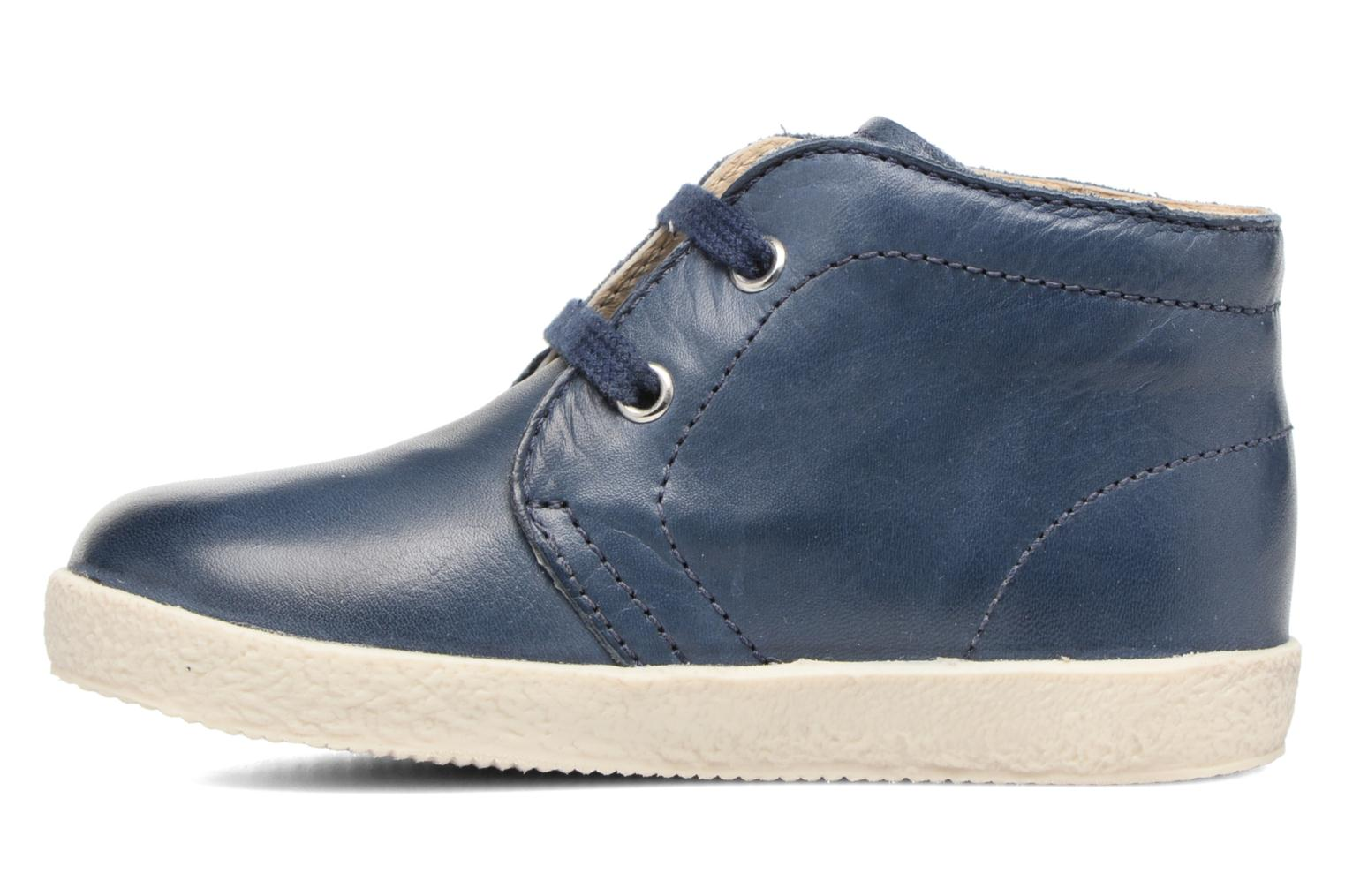 Lace-up shoes Naturino Falcotto 1195 Blue front view