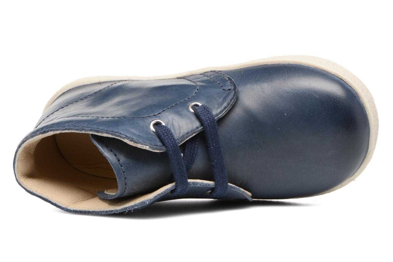 Chaussures à lacets Naturino Falcotto 1195 Bleu vue gauche