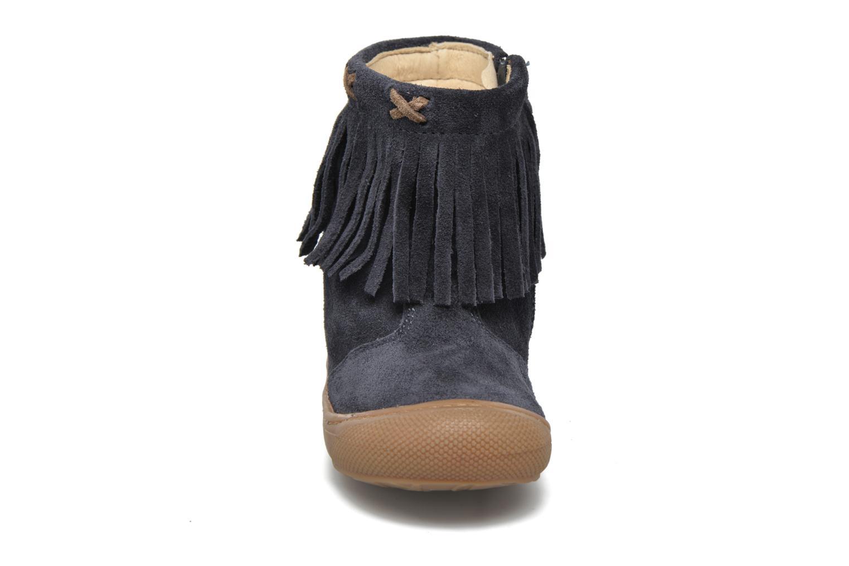 Stiefel Naturino Naturino 4155 blau schuhe getragen