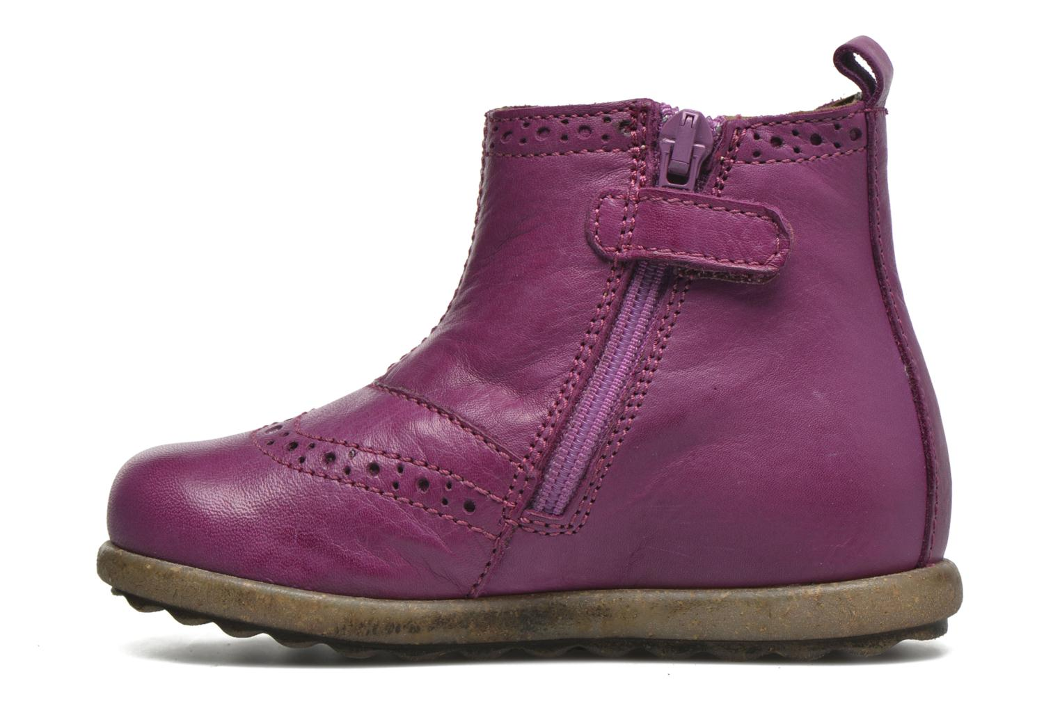 Ankle boots Naturino Naturino Ice Pink front view