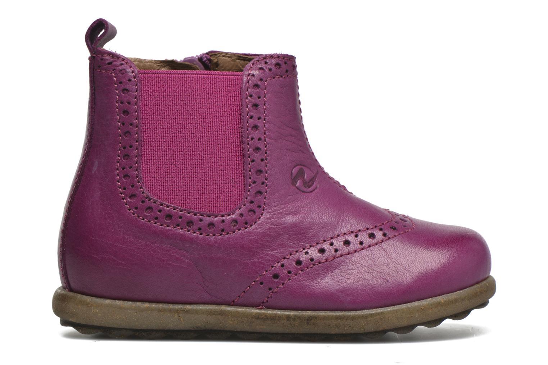 Ankle boots Naturino Naturino Ice Pink back view