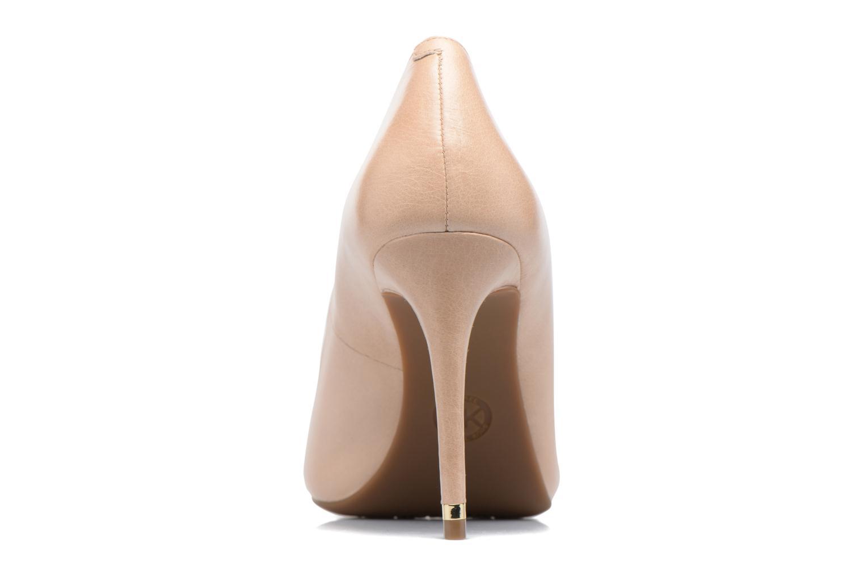 High heels Michael Michael Kors Ashby Flex Pump Beige view from the right
