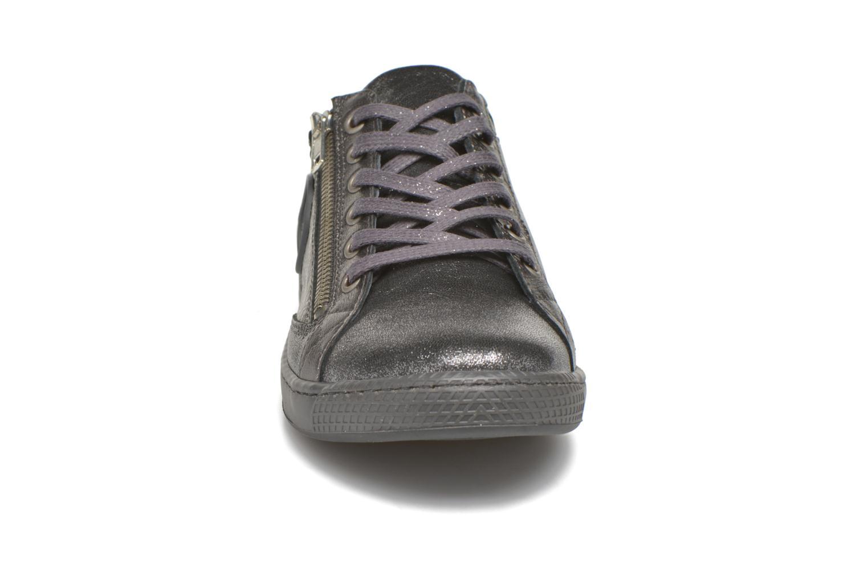 Baskets Pataugas JesterMS Argent vue portées chaussures
