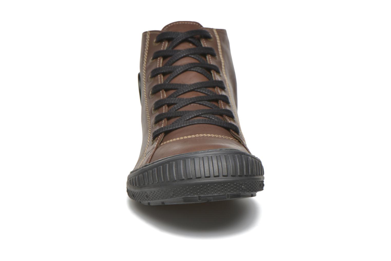 Baskets Pataugas RockerN M Marron vue portées chaussures