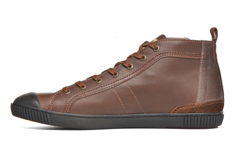 Sneaker Pataugas Brice/I braun ansicht von vorne