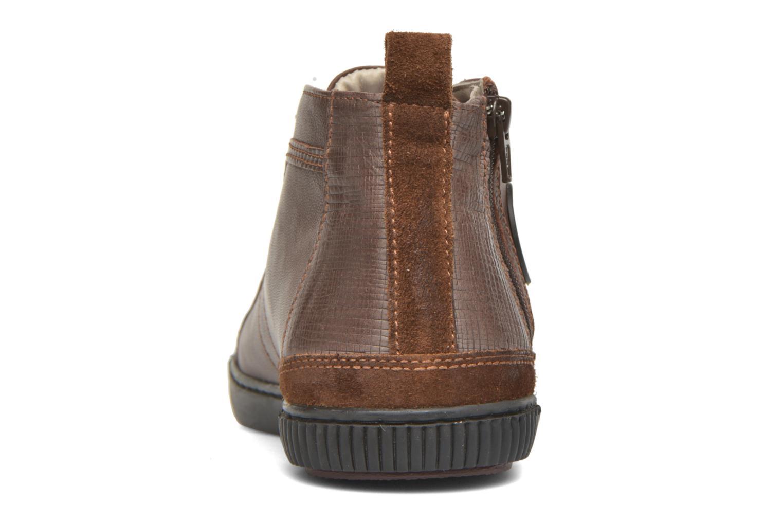 Sneaker Pataugas Brice/I braun ansicht von rechts
