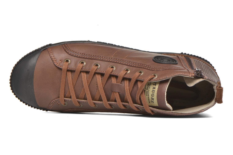 Sneaker Pataugas Brice/I braun ansicht von links