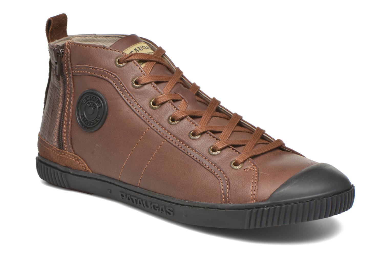 Sneaker Pataugas Brice/I braun detaillierte ansicht/modell
