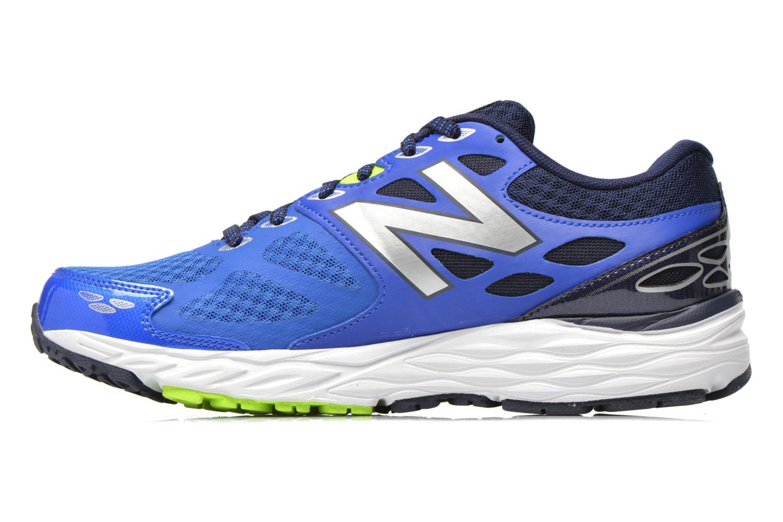 Chaussures de sport New Balance M680 D V3 Bleu vue face