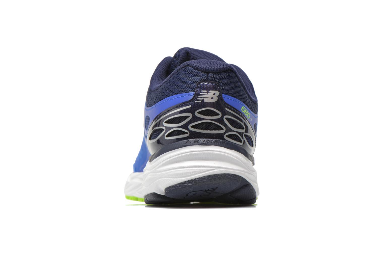 Chaussures de sport New Balance M680 D V3 Bleu vue droite