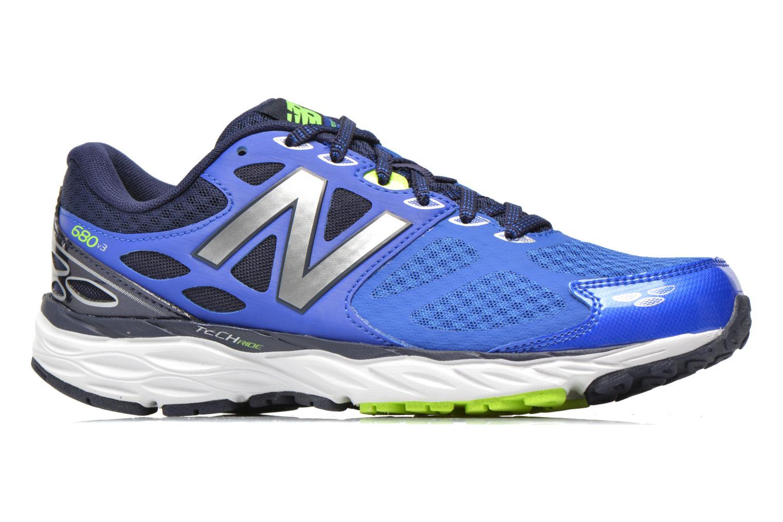Chaussures de sport New Balance M680 D V3 Bleu vue derrière
