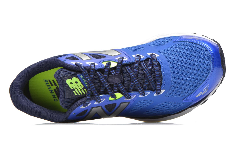 Chaussures de sport New Balance M680 D V3 Bleu vue gauche