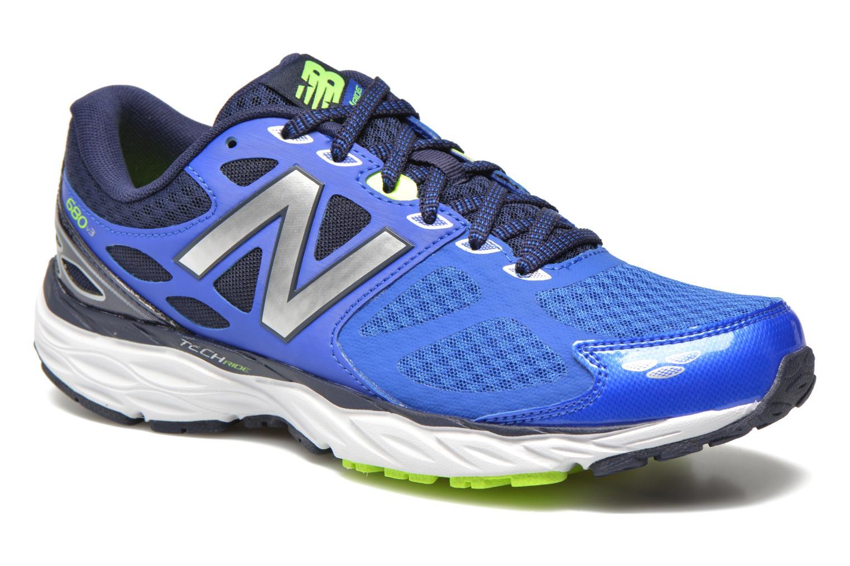 Chaussures de sport New Balance M680 D V3 Bleu vue détail/paire
