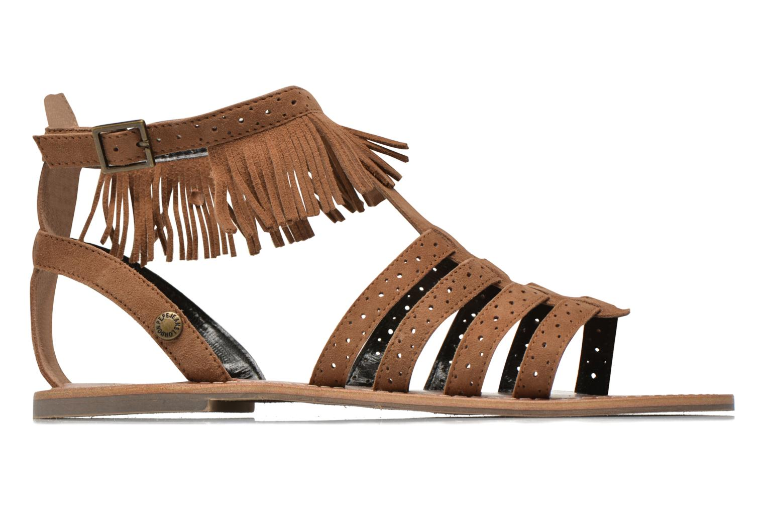 Jane fringes Nut brown