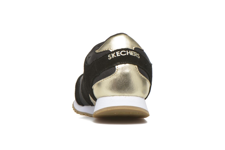 Sneaker Skechers OG 78 - Gold Fever schwarz ansicht von rechts