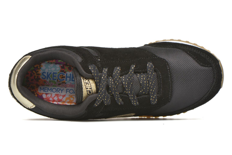 Sneaker Skechers OG 78 - Gold Fever schwarz ansicht von links