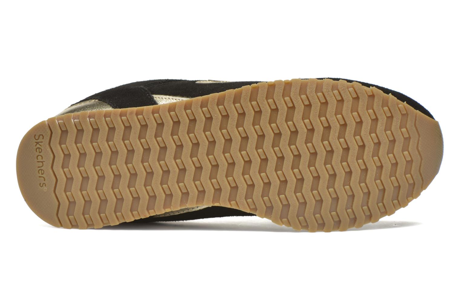 Baskets Skechers OG 78 - Gold Fever Noir vue haut