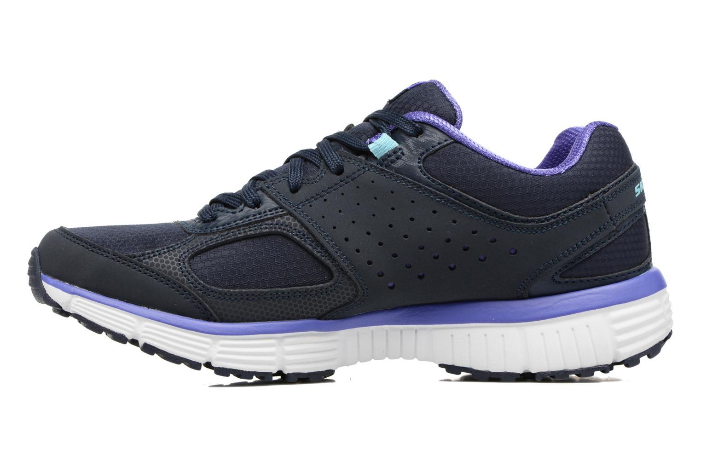 Chaussures de sport Skechers Agility - Ramp Up Violet vue face