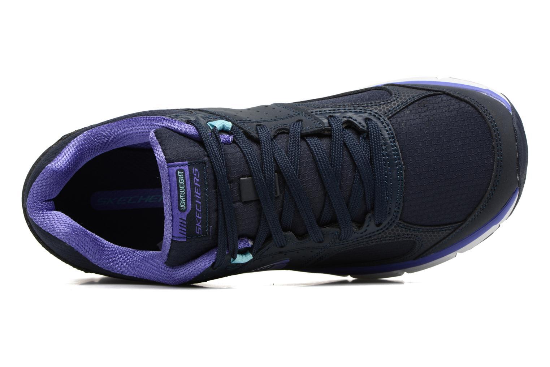 Chaussures de sport Skechers Agility - Ramp Up Violet vue gauche