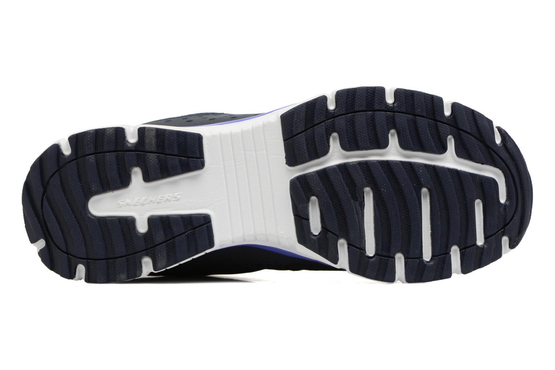 Chaussures de sport Skechers Agility - Ramp Up Violet vue haut