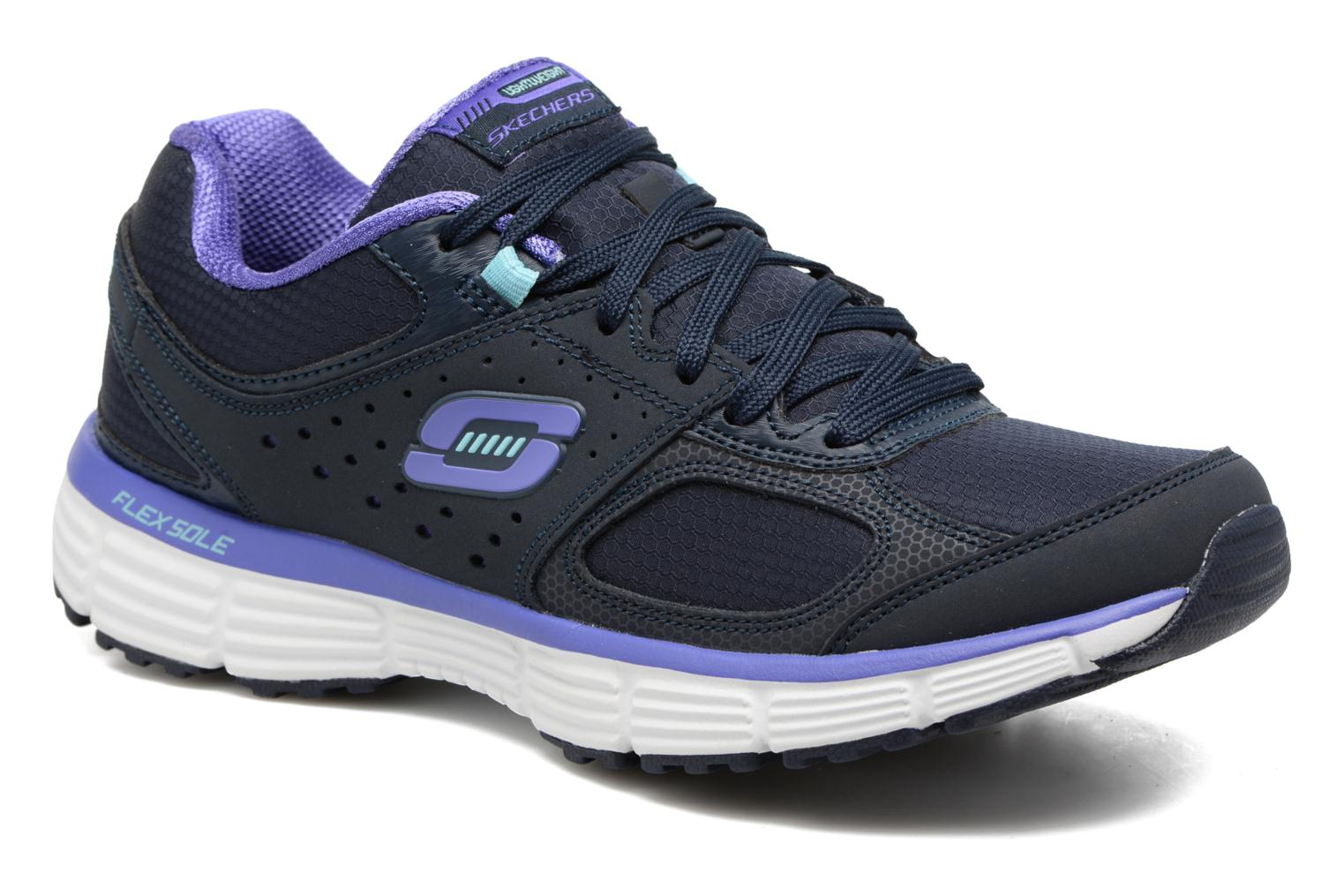Sport shoes Skechers Agility - Ramp Up Purple detailed view/ Pair view