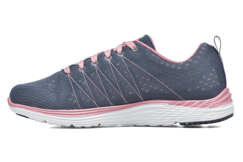 Chaussures de sport Skechers Valeris Bleu vue face