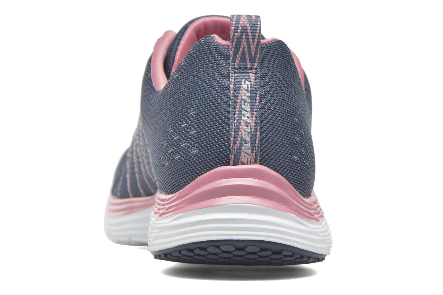 Sport shoes Skechers Valeris Blue view from the right