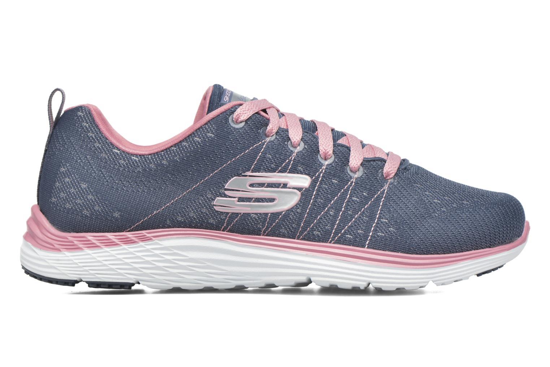 Chaussures de sport Skechers Valeris Bleu vue derrière