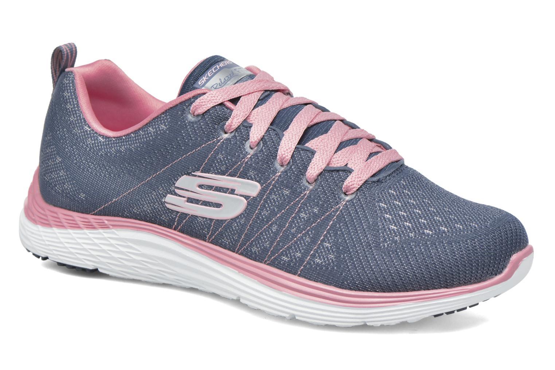 Chaussures de sport Skechers Valeris Bleu vue détail/paire
