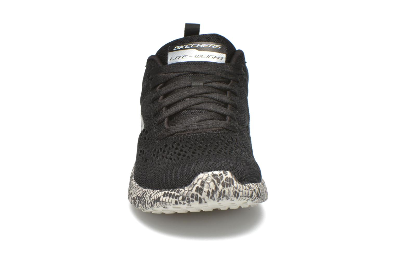 Scarpe sportive Skechers Burst Nero modello indossato