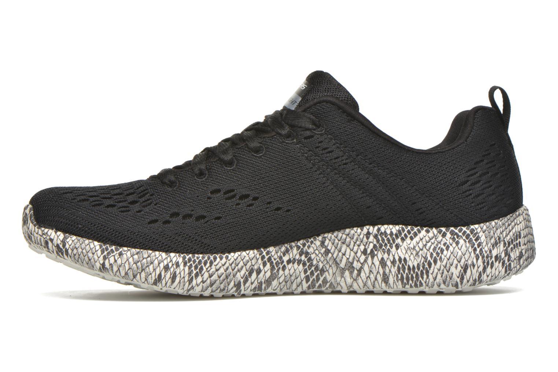 Sport shoes Skechers Burst Black front view