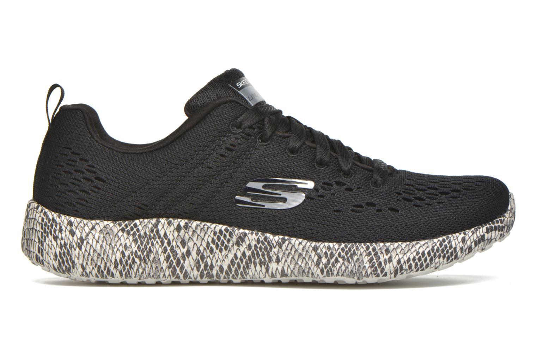 Sport shoes Skechers Burst Black back view