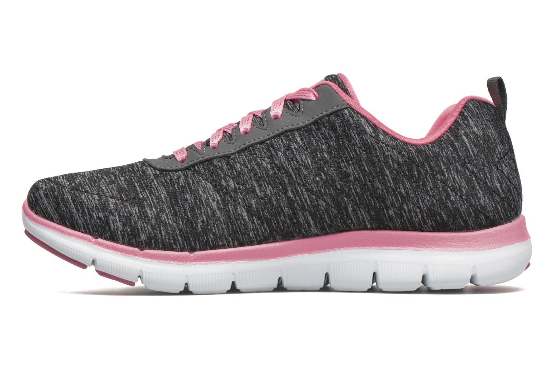 Flex Appeal 2.0 Black & Charcoal / Coral