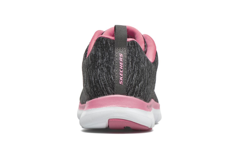 Baskets Skechers Flex Appeal 2.0 Noir vue droite