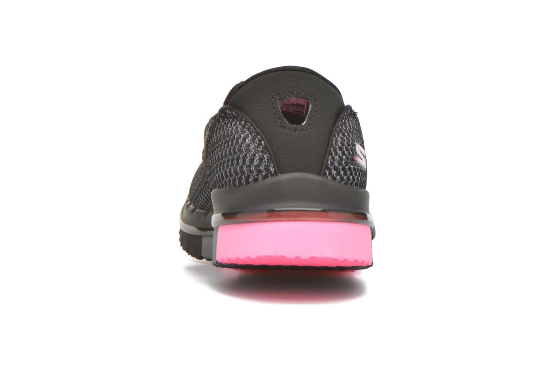 Sportschuhe Skechers Go flex - Extend schwarz ansicht von rechts
