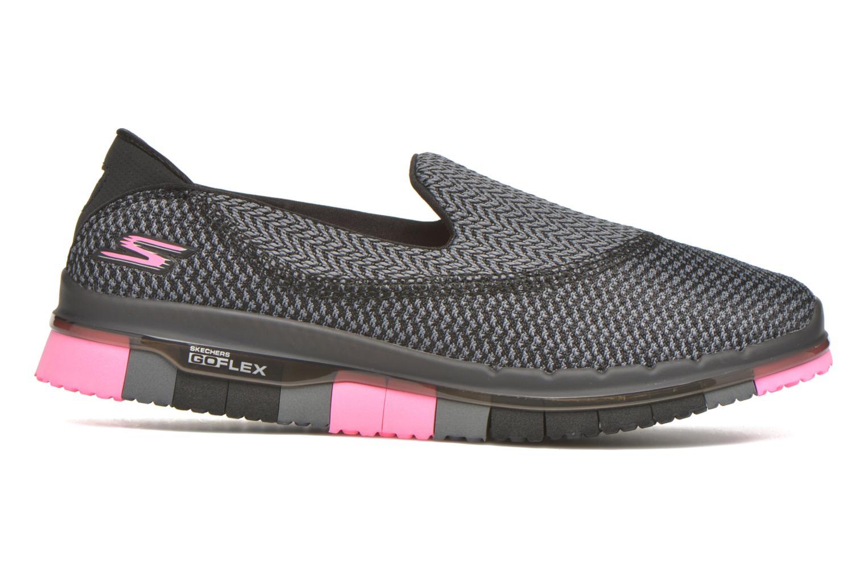 Sport shoes Skechers Go flex - Extend Black back view