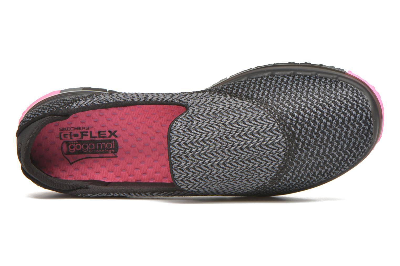Zapatillas de deporte Skechers Go flex - Extend Negro vista lateral izquierda