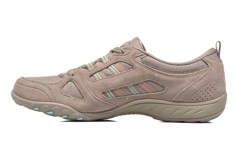 Sneaker Skechers Breathe-Easy - Good grau ansicht von vorne