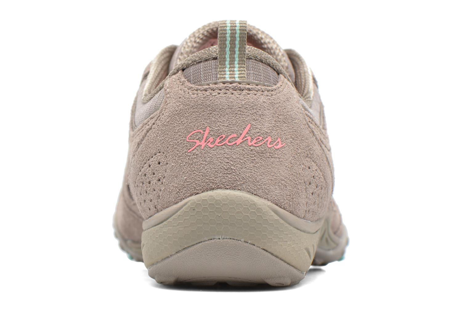 Deportivas Skechers Breathe-Easy - Good Gris vista lateral derecha