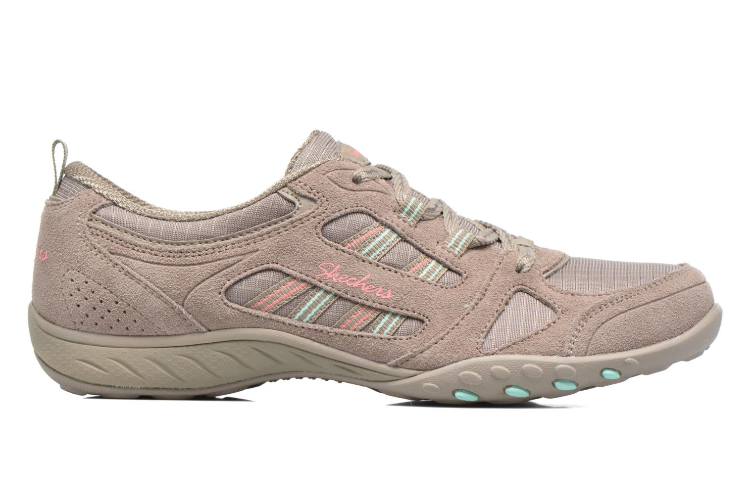 Deportivas Skechers Breathe-Easy - Good Gris vistra trasera